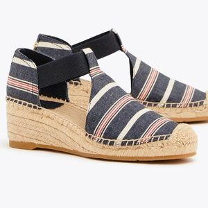 Tory Burch Catalina Striped Espadrille Sandal 6